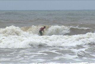 Campeonato de Surfe dos Amigos foi realizado no Abaís - Campeonato de Surfe dos Amigos foi realizado no Abaís