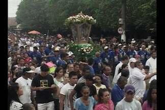 Romaria de Nossa Senhora de Nazaré em Tucuruí reúne mais de 60 mil pessoas - Virgem Maria também é a padroeira da cidade.