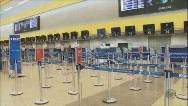 Aeroporto de Campinas permanece fechado após 40 horas - Aeroporto de Campinas permanece fechado após 40 horas.