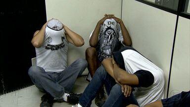 Torcedores são detidos após confusão em Belo Horizonte - Quinze pessoas foram para a delegacia.