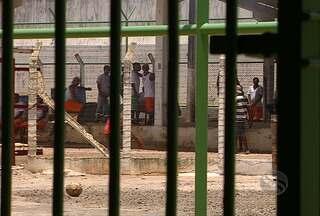 444 presos se rebelaram no presídio de Nossa Senhora da Glória, em SE - Presos mantiveram por 23 horas cerca de 100 visitantes e um agente penitenciário como refém