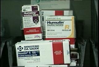 Baixo estoque de insulina preocupa em Santa Maria, RS. - As farmácias do Estado e do município não têm mais doses.