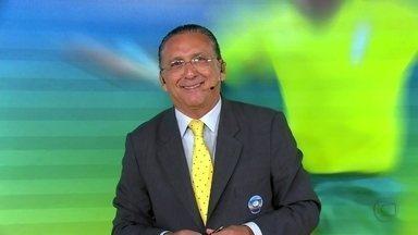 Fátima Bernardes e Galvão Bueno analisam a vitória do Brasil sobre o Japão - Apresentadora mata a saudade das coberturas das Copas do Mundo
