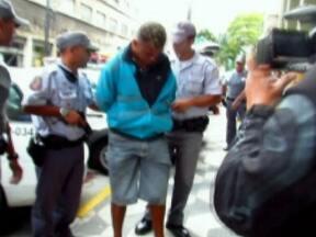 Polícia prende dois suspeitos de executar PM na Zona Sul de São Paulo - A polícia prendeu dois homens acusados de executar um policial militar no mês passado. O crime aconteceu na Zona Sul da capital. Imagens de câmeras de segurança mostram o momento da troca de tiros.