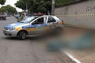 Corpo fica em rua por pelo menos 9h por causa da greve da Polícia Civil, em GO - Já são 11 dias de paralisação com muitos prejuízos para os moradores. A equipe da TV Anhanguera mostra mais um caso de corpo que está abandonado na rua.