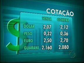 Confira a cotação das moedas para o feriadão - Veja os valores do dólar, euro, peso e guarani
