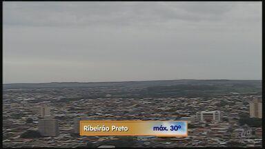 Confira como fica o tempo nesta quinta-feira (8) em Ribeirão - Temperatura máxima prevista é de 30ºC.