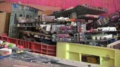 Cearenses devem produzir 50 mil toneladas - Descartar lixo elêtronico ainda é difícil no estado.