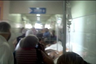 Os dois principais hospitais de São Luís estão sendo fiscalizados nesta semana - A Comissão Nacional de Defesa dos Direitos Humanos registrou imagens registradas que mostram as dificuldades enfrentadas pelos pacientes que são tratados nos Socorrões 1 e 2, e as péssimas condições em que trabalham os funcionários dos hospitais.