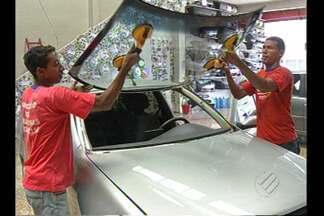 Motoristas precisam redobrar cuidado com as mangas - Frutos caem nos carros e causam prejuízos.