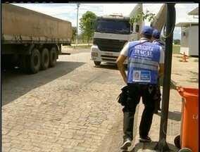 Megaoperação contra a sonegação do ICMS foi encerrada nesta terça - Mais de 1700 caminhões foram fiscalizados nas estradas que dão acesso ao Rio de Janeiro.