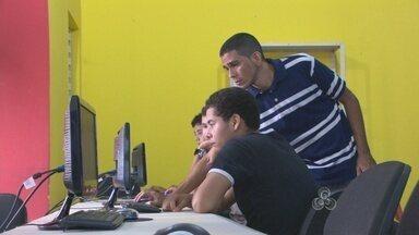Dezenas de jovens fazem cursos nas áreas de tecnologia em Porto Velho - A demanda do mercado para profissionais especializados é grande.
