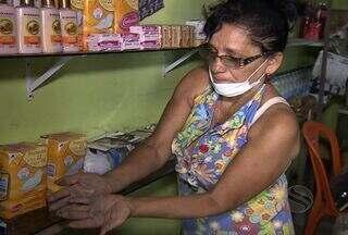 Poeira é motivo de transtornos em comércio da capital - Poeira é motivo de transtornos em comércio de Aracaju.