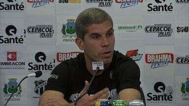 Técnico Ricardinho é apresentado no Ceará - Ricardinho só assume o comando, no entanto, no fim de dezembro