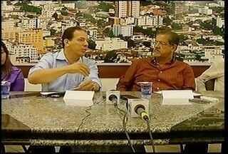 Luiz Tadeu Leite e o prefeito eleito, Ruy Muniz, falam sobre a transição de governo - Luiz Tadeu Leite e o prefeito eleito, Ruy Muniz, falam sobre a transição de governo.