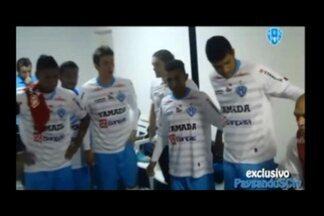 Veja como foi os bastidores do jogo que garantiu o acesso à Série B ao Paysandu - Veja como foi os bastidores do jogo que garantiu o acesso à Série B ao Paysandu