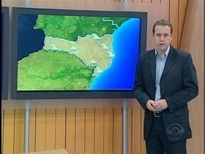 Confira a previsão do tempo para a quarta-feira em SC - A previsão é do meteorologista Leandro Puchalski.