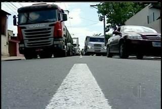 PRF pede proibição de caminhões na Ponte Alair Ferreira, em Campos dos Goytacazes, RJ - Problemas no trânsito do local foram a causa do pedido.