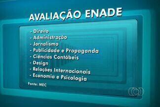 Mais de 16 mil alunos fazem a prova do Enade em Goiás, no domingo - Exame Nacional de Estudantes acontece de 13h 17h (horário de Brasília). Candidato precisa levar documento com foto e cartão de identificação.