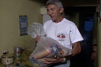 """Começa neste domingo a campanha """"Natal sem Fome dos Sonhos"""" - Participe doando alimentos, roupas, água e brinquedos."""
