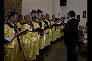 Guardas de Nazaré homenageiam Nossa Senhora das Graças - Festividade acontece no bairro Parque Verde.