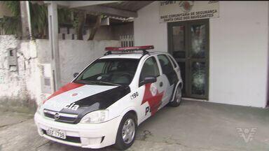 Polícia prende acusados de atacar base da PM em Guarujá, SP - Ato de vandalismo aconteceu neste domingo (25).
