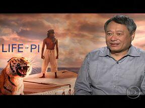 """Filme de Ang Lee é forte candidato ao Oscar - Nascido em Taiwan, o cineasta tornou-se o primeiro asiático a ganhar o Oscar de melhor diretor, com """"O Segredo de Brokeback Mountain"""". O filme """"As Aventuras de Pi"""" conta a história de um jovem indiano que se muda com a família para o Canadá."""