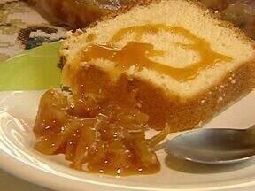 Aprenda a receita de um delicioso doce de lichia - Ele pode ser saboreado de diferentes formas, como por exemplo com bolo ou sorvete