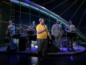 Paulinho Rosembaum se apresenta com o Sexteto do Jô - Paulinho Rosembaum canta o forró rabínico 'Iétser Hará , Eu Te Como com Jabá'.
