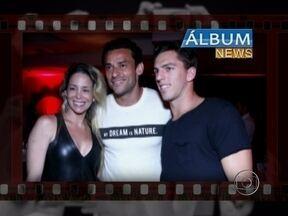 Álbum News: Dani Winits tieta Fred, jogador do Fluminense - Confira as novidade do mundo dos famosos