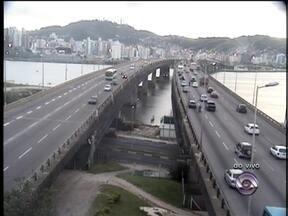 Confira as informações do trânsito na manhã desta segunda-feira em Florianópolis - Confira as informações do trânsito na manhã desta segunda-feira na Capital.