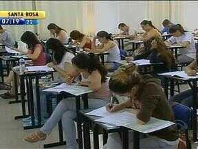Fim de semana foi de vestibular em diversas universidades do RS - Na PUCRS, 9 mil candidatos prestaram as provas.