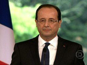 François Hollande é o presidente mais impopular da história moderna da França - A popularidade do presidente é o tema da colunda de Renato Machado, que está em Londres. Oito meses após assumir a presidência do país, ele continua impávido diante da economia estagnada.