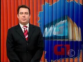 Confira os destaques do MGTV 1ª edição desta sexta em Uberlândia e região - Um homem ficou gravemente ferido em um acidente na noite desta quinta-feira (20), na BR-050. E foi inaugurado em Uberlândia o Teatro Municipal.