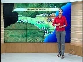 Confira a previsão do tempo em Santa Catarina - Confira a previsão do tempo em Santa Catarina.