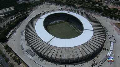 Novo Mineirão será entregue nesta sexta-feira - Estádio será entregue na tarde desta sexta-feira, com a presença da Presidente Dilma Rousseff. Festa de reinauguração terá show da banda mineira Jota Quest.