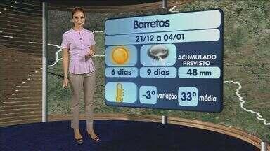 Previsão do tempo - 21/12/12 - Ribeirão Preto e região - Confira como fica o tempo nesta sexta-feira (21).