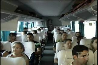 Fiscalização mais rigorosa no Terminal Rodoviário de Açailândia - Comissários da infância orientam as empresas de ônibus para que não permitam que menores viajem desacompanhados ou sem permissão dos pais ou responsáveis.