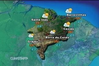 Confira como fica a previsão do tempo para esta sexta-feira (21) - Sol e pancadas de chuva no Maranhão hoje.