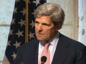 Barack Obama anuncia nome de novo secretário de estado dos EUA - O presidente americano Barack Obama anunciou, nesta sexta (21), o senador John Kerry como o novo secretário de estado americano. Kerry vai assumir, em janeiro, o posto que era de Hillary Clinton. Susan Rice desistiu de concorrer ao cargo.