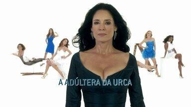Sônia Braga é A Adúltera da Urca - Júlia é do tipo dona de casa, esposa e funcionária exemplar. Só que ela acaba descobrindo que adorava uma das coisas que mais desprezava: seduzir homens que não eram seu marido.