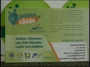S.O.S. Saúde: Voluntários se reúnem para agilizar arrecadação ao Hospital São Donato - S.O.S. Saúde: Voluntários se reúnem para agilizar arrecadação ao Hospital São Donato.