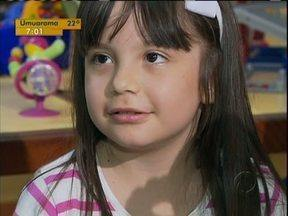 Menina que precisava de um rim conseguiu o transplante - E o número de doação de órgãos aumentou no estado.
