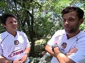 Iranildo e Jean são as novas estrelas do Madureira - Jogadores se cruzam na equipe como reforços para 2013 e disputam o Campeonato Carioca.