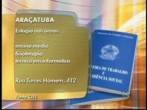 Veja as vagas de emprego na região noroeste paulista - Para quem está em busca de emprego, veja as vagas disponíveis na região de São José do Rio Preto (SP). Confira as oportunidades divulgadas no Bom Dia Cidade nesta terça-feira (15).