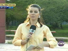 Telespectadores tiram dúvidas sobre a previsão do tempo - Galo Bendito responde aos telespectadores.