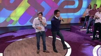 Hugo e Tiago cantam 'Ninguém tem nada com isso' - Dupla interpreta sucesso da carreira