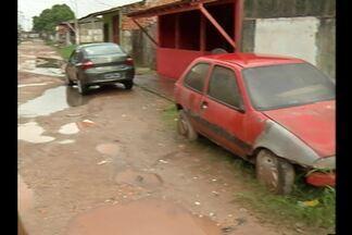 Comunidade do conjunto Tauarí, no Icuí-Guajará, sofre com ruas sem asfalto - Moradores afirmam que já perderam diversos aparelhos eletrônicos.