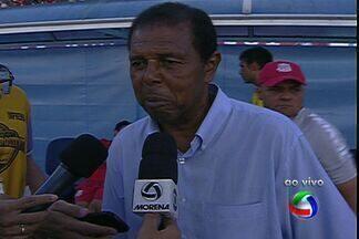 Técnico Mirandinha, do Comercial-MS, diz que time precisa melhorar em tudo - Colorado foi goleado por 5 a 0 pelo Cene no estádio Morenão, em Campo Grande, pelo Campeonato Sul-Mato-Grossense