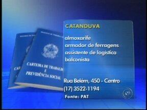Confira as vagas de emprego disponíveis na região noroeste paulista - Para quem está em busca de emprego no setor de alimentação, há oportunidades nessa área e em muitas outras na região de São José do Rio Preto (SP). Confira as as vagas.
